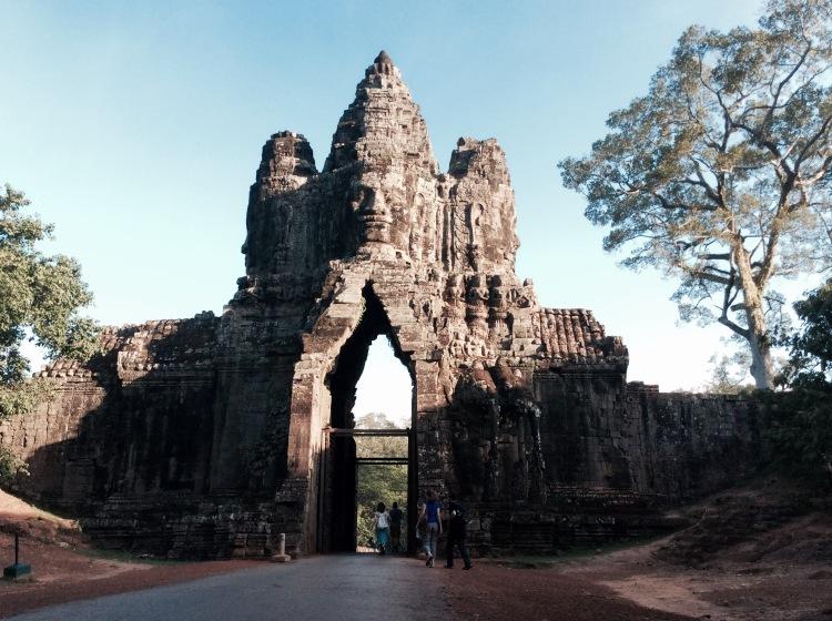 Porte Sud d'Angkor